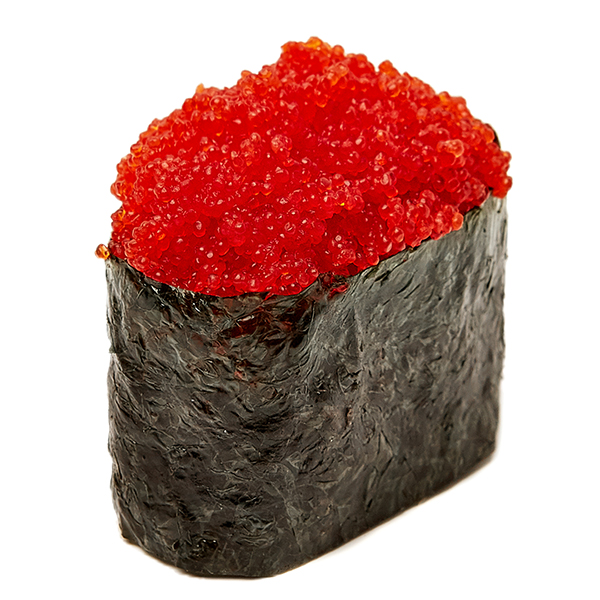Гункан з ікрою масаго червоною