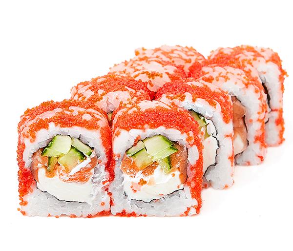 Масаго з лососем